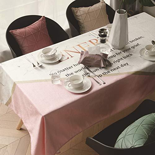 amt Einfache Rosa Sprite Tischdecke 140 X 180cm ()