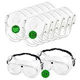 Schutz-Set bestehend aus 2 Stück Vollsichtbrillen