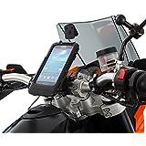 Din Hella Motorrad-Halterung für Samsung Galaxy S4 (zur Montage auf die Lenkstange, mit Kugellager, wasserdichte Hartschale im Lieferumfang enthalten)