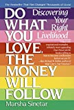 Do What You Love, The Money Will Follow: Discovering Your Right Livelihood: Choosing Your Right Livelihood