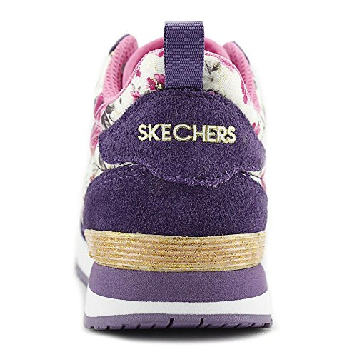 Skechers Herren Go Run Ride 6 Outdoor Fitnessschuhe Viola / Rosa