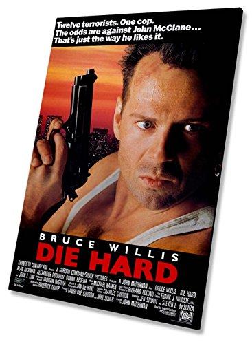 Die Hard Film Film Poster Auf Leinwand, gerahmt Druck 50,8x 76,2cm