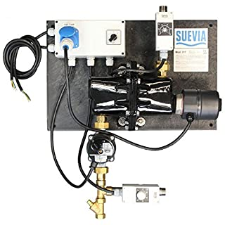 Suevia Heizgerät Modell 317 - 3000 Watt, 230 Volt - mit Rücklauftemperatur-Steuerung - 101.0317