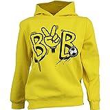 BVB 09 Borussia Dortmund KIDS Hoody (164, gelb)