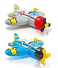 Idea Regalo - Intex 57537 - Cavalcabile Elicottero, 132 x 130 cm, Multicolore
