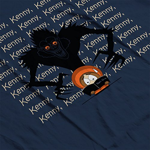Kenny Kenny Kenny South Park Death Note Women's Hooded Sweatshirt Navy blue