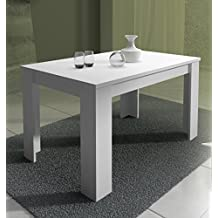 Mobelcenter - Mesa Blanca Extensible Corfu - 138 cm x 88 cm Ref 0690