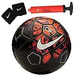#5: Larjonna Nike CR7 replica Red/Black Football. Size-5