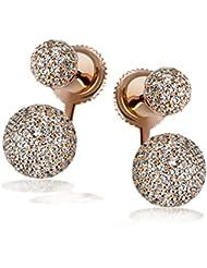 Goldmaid - Boucles d'oreilles - Argent 925 - Oxyde de Zirconium - Pa O7479SR
