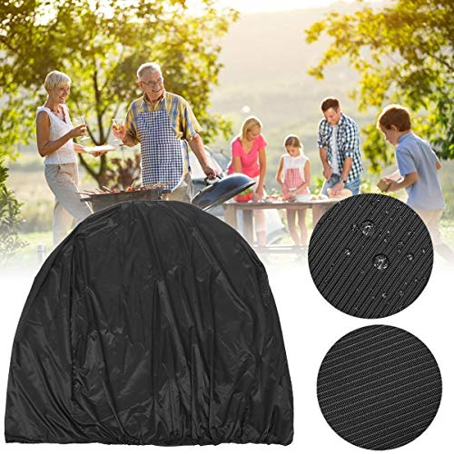133x66x121cm BBQ Grill Cover Outdoor Picnic Waterproof Dust Rain UV Proof Protector Barbeque Accessories Rain Protector
