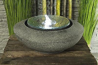 Arnusa Springbrunnen Mirror mit LED Beleuchtung Zimmerbrunnen Design Brunnen von Arnusa auf Du und dein Garten