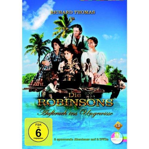 Die Robinsons - Aufruch ins Ungewisse Vol. 03 [2 DVDs]