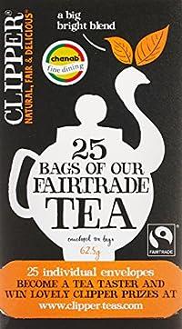 Clipper a big bright blend fairtrade tea(enveloped tea bags), 62.5g