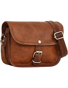 Handtasche Leder Gusti Leder nature