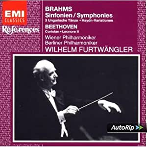 Brahms- Complete Symphonies 1,2,3,4, Variations on the Theme by haydn, Hungarian Dances 1,3 & 10 & Beethoven: Overtures Coriolan, Leonore no.2, - 3CD Set