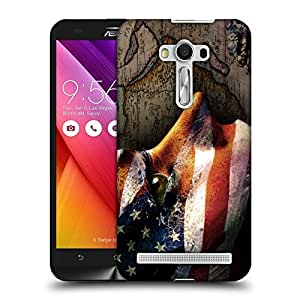 Snoogg Us Paint Face Designer Protective Back Case Cover For ASUS ZENFONE SELFIE