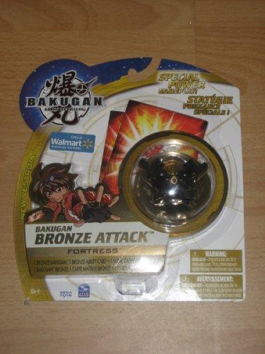 Bakugan New Vestroia Bronze Attack Fortress - Brand New Rare