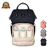 Best Diaper Backpacks - Diaper Bag Backpack Multi-Function Waterproof Baby Changing Bag Review