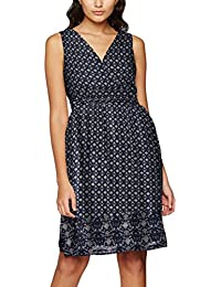 VERO MODA Damen Kleid Vmnabia Border S/L Above Knee Dress