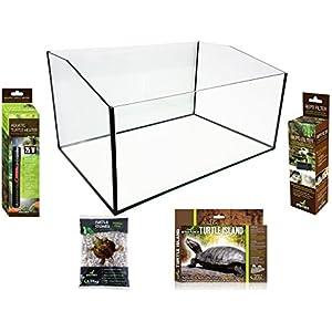 Reptiles Planet Kit Terrarium für SCHILDKRÖTEN 60x 40x 28cm
