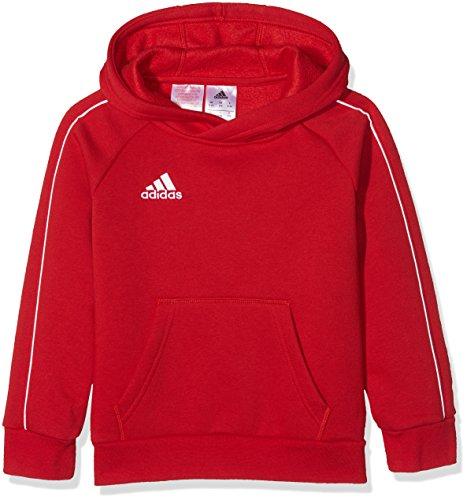 adidas Kinder Core 18_cv3431 Hoodie Sweatshirt, Rot (Power Red/White), 128 (Kinder Sweatshirts Fußball Für)