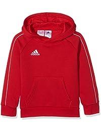 Adidas CORE18 Y Sudadera, Unisex Niños, (Rojo/Blanco), 116 (5/6 años)