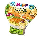 HiPP Zauberhaftes Nudel-123 in Kürbis-Sahne-Sauce, 6er Pack (6 x 250 g)