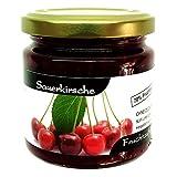 """Xylit Fruchtaufstrich""""Sauerkirsche"""" ohne Zuckerzusatz, nur mit Xylit gesüßt, 70% Fruchtanteil (mehr als Marmeladen), Low Carb, 200 g"""