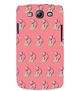 PRINTSWAG HEART PATTERN Designer Back Cover Case for SAMSUNG GALAXAY S3