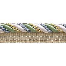 """9Patio valor pack grande verde, dorado, azul 7/16""""Imperial II Cable de labio estilo # 0716i2color: montaña primavera–4668(27m/8metros)"""