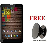 IKALL N5 7 Inch 4G Calling Tablet (2GB, 16GB) With Freebie Phone PoP-up Grip/Stand - Black