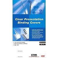 GBC HiClear A4 Copertine per Rilegatura in PVC, Confezione da 100 Pezzi -  Confronta prezzi e modelli