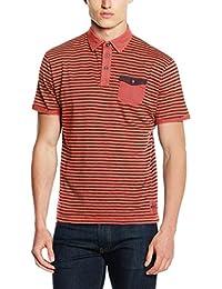 TOM TAILOR Herren Poloshirt Striped Polo