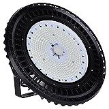 Himanjie® 100W/150W/200W/250W UFO Haute Baie LED Spot Lumen Imperméable IP65 High Bay Lumière Blanc Phare de Travail Lampe de minière pour Usine Industrie Atelier chantier avec SMD 5730 Ampoul (200W)