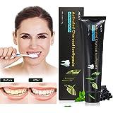 Dentifrice au Charbon de Bambou Y.F.M Blanchiment des Dents de Charbon Activé, Améliore la Santé Bucco-Dentaire...