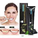Y.F.M. Dentifricio in Carbone Attivo, Dentifricio Sbiancante, Dentifricio Carbone di Bamboo di Naturale, Pulizia Intensiva per Eliminare Denti le Macchie, Sbiancamento dei Denti |120g