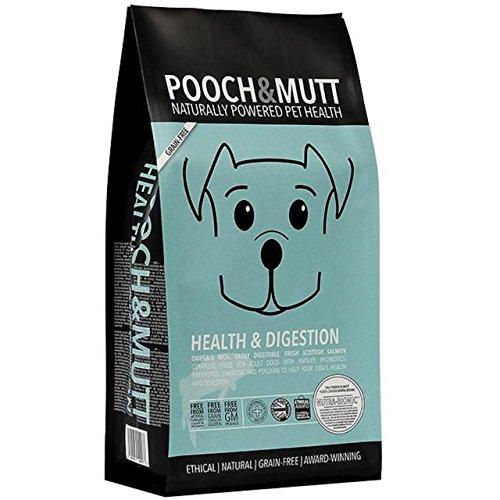 Pooch & mutt la salute e la digestione complete dry dog food 10kg (confezione da 6)