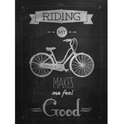 Poster / Tela Canvas - Ciclismo - Bicicletta Racing Team Scatto Fisso - Graphic Design Vintage - 50x70cm - Cartoncino Artistico