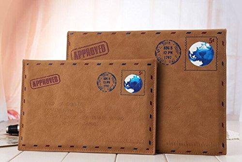 iPad Fall, livitech (TM) Classic Retro Umschlag PU-Leder Sleeve Schutzhülle für iPad 432und Das iPad Mini 4321& iPad Air 21, iPad 4 3 2 & iPad Air 1 2