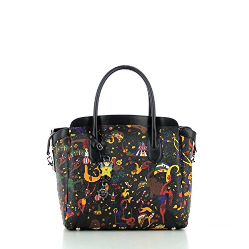 Tote Bag Teresa Magic Circus NERO