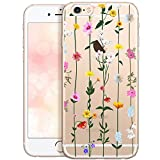 OOH!COLOR Bumper Compatible pour iPhone 6S Plus, Coque iPhone 6 Plus Transparente...