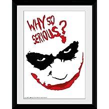 GB eye LTD, Batman (The Dark Knight), Smile, Fotografía enmarcada, 40 x 30 cm