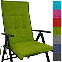 cojn respaldo para sillas de jardn tino x x cm repelente