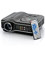 DSstyles Remote Controller for 2100 Lumens DVD Projector with DVD Player Video Game Projector Beamer 400:1 Contrast