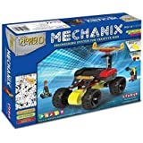 Mechanixx Robotix Motorized Engineering System for Creative Kids, Age 7+, Multicolor, Model 5, Pieces 84