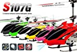 Syma S107G 3-Channel Infrared RC Helicopter with Gyroscopic Stability Control