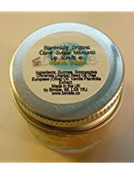 Bimble Organic Raw Cane Sugar Natural Lip Scrub 25g - Vanilla Fudge Flavour