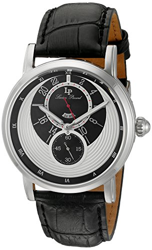 Lucien Piccard Men's Analogue Quartz Watch with Leather Strap LP-40043-02S