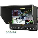 """LILLIPUT 7"""" 663/S2 PROFESSIONNEL 3G-SDI MONITEUR IPS HDMI YPbPr AV PEAKING FILTER"""
