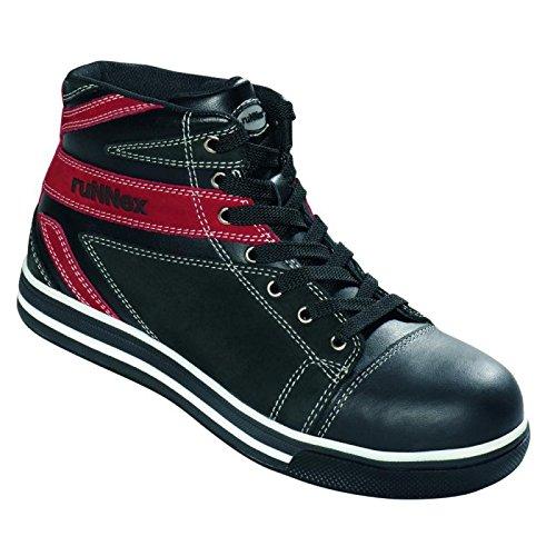 RuNNex chaussures de sécurité s3 5343 «sportStar moderne et léger, noir, noir, 5343